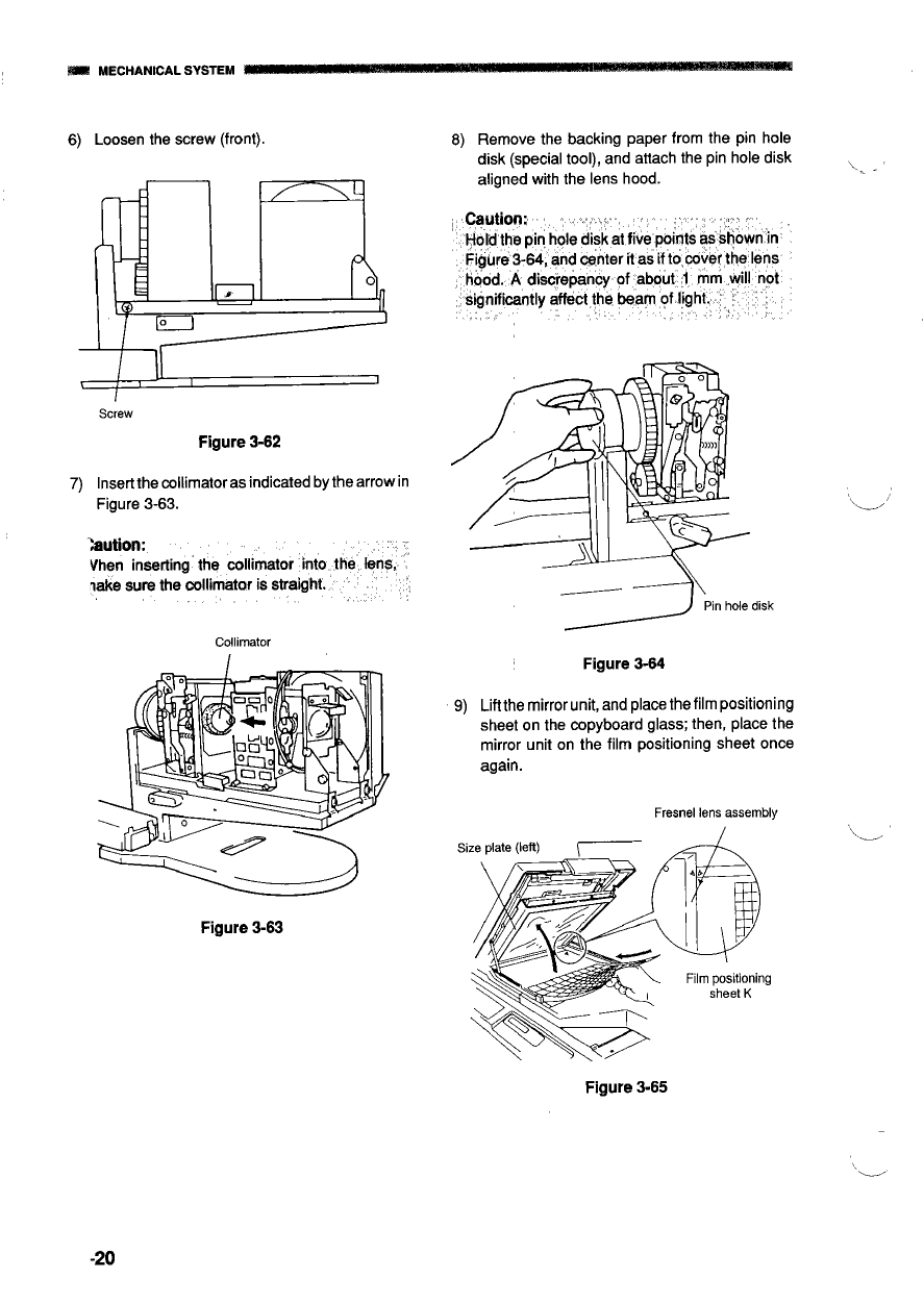 Canon Options Projector-I Film- Service Manual-6